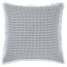 Teal Cavo Cotton European Pillowcase