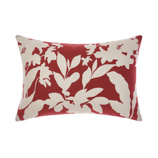 Red Tillie Cotton Cushion