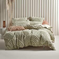 Sage Ojai Cotton Quilt Cover Set