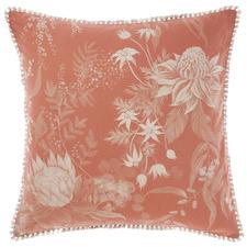 Acacia Garden Cotton Euro Pillowcase
