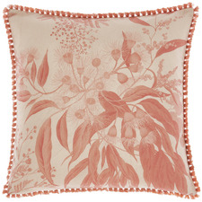 Tasselled Acacia Garden Cotton Cushion