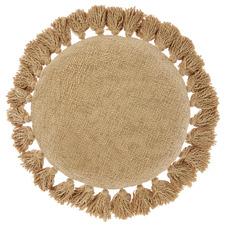 Florida Round Cotton Cushion