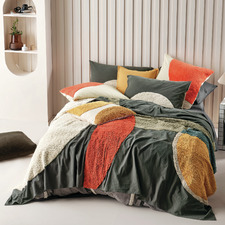 Multi-Coloured Herman Cotton Bed Cover