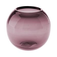 Purple Rita Glass Vase