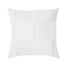 White Memphis Cotton Chenille Cushion