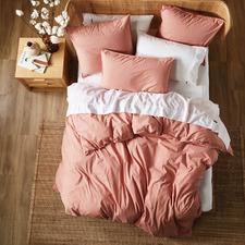 Rosette Terra Cotton Quit Cover Set