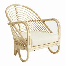 Marina Rattan Outdoor Armchair