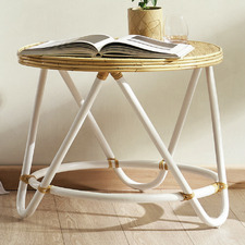 Natural Beechmont Rattan Side Table