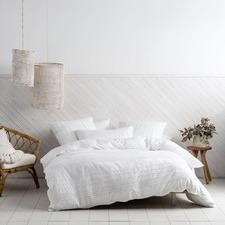 White Cameron Cotton Quilt Cover Set