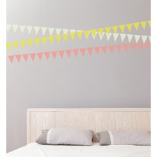 Everyday Bunting Set Of 30 Wall Decal