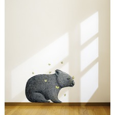 Wombat & Mariposa By Renee Treml Wall Decal