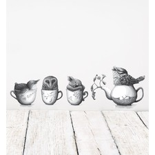 Tea Party By Renee Treml Wall Decal