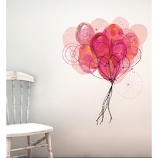 Carnival Balloons Wall Decal