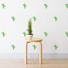 Mini Cactus Wall Decal