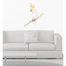 Brucei The Cockatoo Wall Sticker