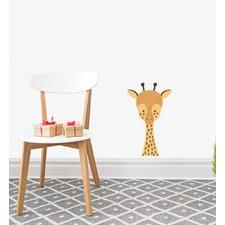 Cute Giraffe Face Wall Sticker