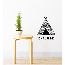 Explore Camping Wall Sticker
