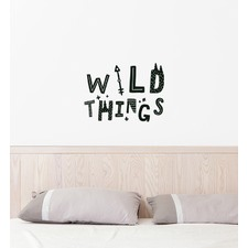 The Wild Things Wall Sticker