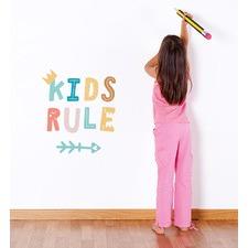 All Kids Rule Wall Sticker