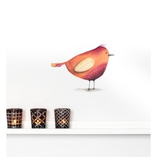 Red Bird Wall Sticker