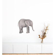 Elephant On Its Own Wall Sticker