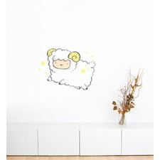 Flying Sheep Wall Sticker
