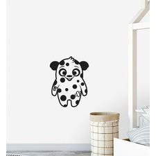 Happy Spotty Monster Wall Sticker