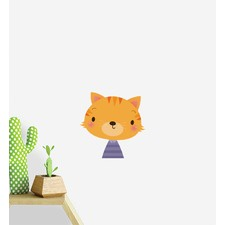 Cat Portrait Wall Sticker