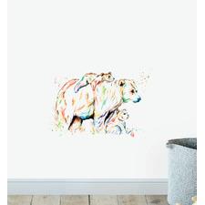 Bear Family Wall Sticker