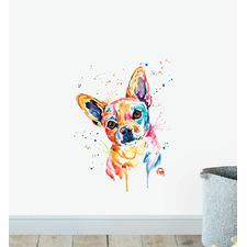 Tucker Chihuahua Wall Sticker