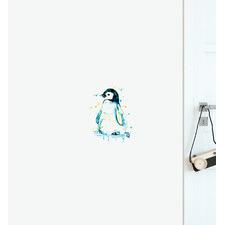 Waddling Penguin Wall Sticker