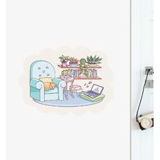 Cute Living Room Wall Sticker