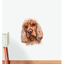 Cocker Spaniel Dog Wall Sticker