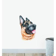 German Shepherd Dog Wall Sticker