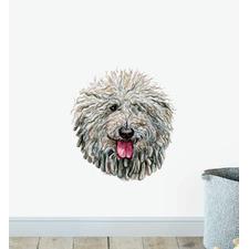 Komondor Dog Wall Sticker
