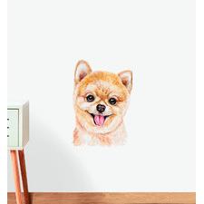 Pomeranian Dog Wall Sticker