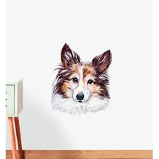Shetland Sheepdog Dog Wall Sticker
