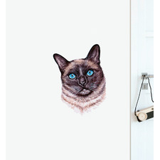 Siamese Cat Wall Sticker