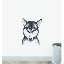 Siberian Husky Dog Wall Sticker