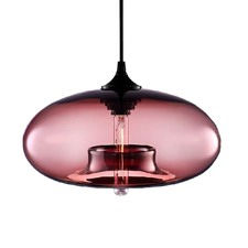 Mason Glass Pendant Light