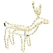 LED Rope Light Standing Reindeer