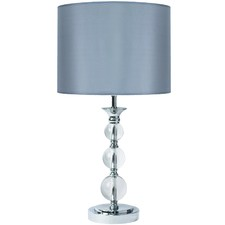Silver Verve Table Lamp