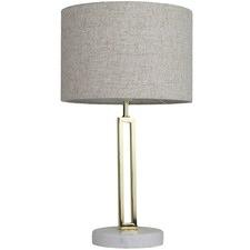 Marble & Metal Margleus Table Lamp