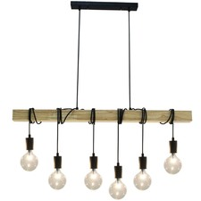 Charenton 6 Lights Steel Pendant