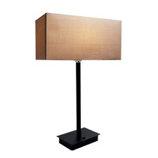 Ampara Table Lamp with USB Port