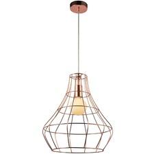 Libourne 1 Light Light Metal Pendant