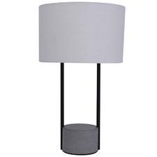 White and Black Maya Table Lamp