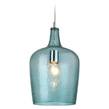 Fleury 1 Light Glass Pendant