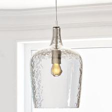 Fleury 1 Light Glass Pendant