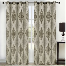 Dali Eyelet Curtain Set